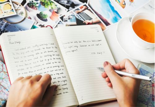 Escribiendo un diario