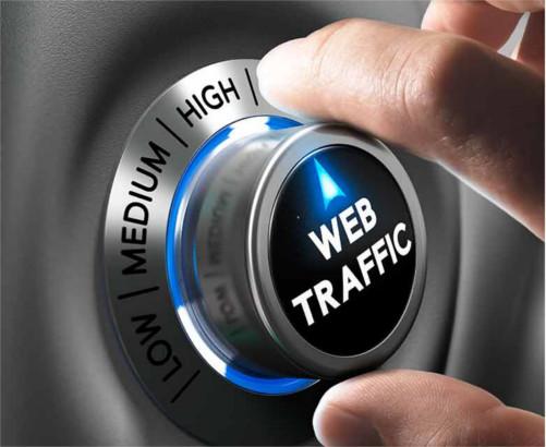 Web traffic en tu página