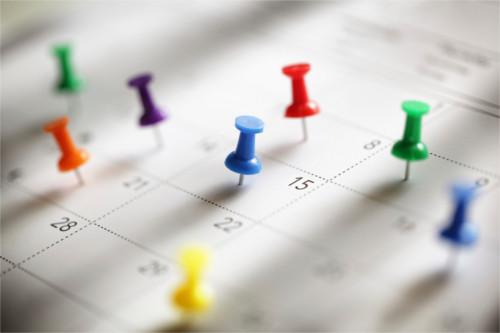 Programando el calendario editorial