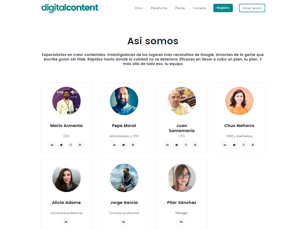 quienes somos digital content