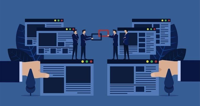 Enlaza con otros sitios webs que estén relacionadas con tu contenido