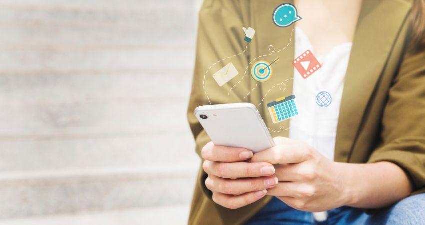 Consumo de Internet como vía social