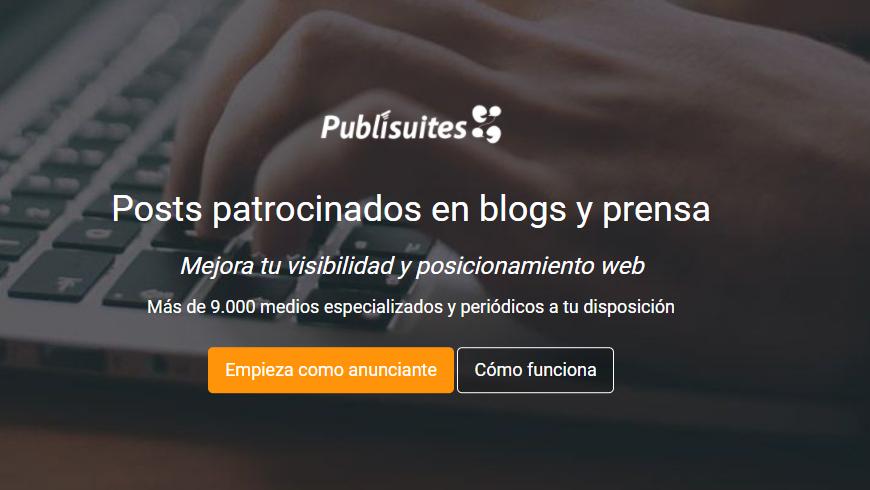 posts patrocinados en blogs y prensa