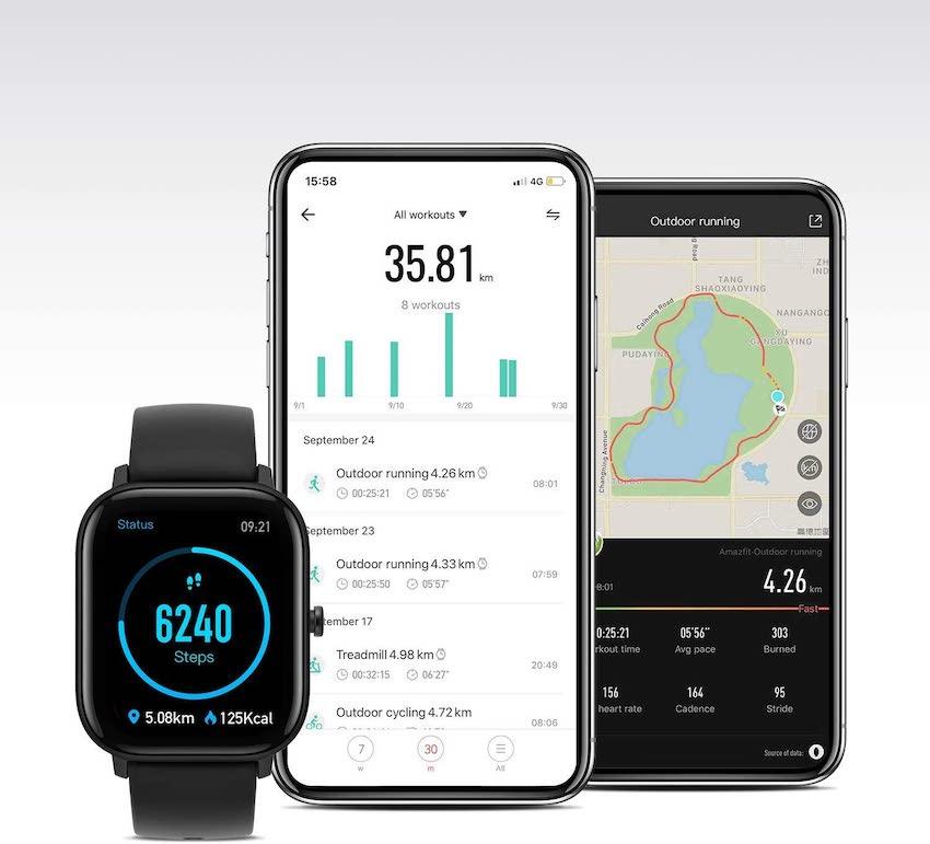 Amazfit GTS: el smartwatch deportivo que sorprende a quien lo usa   Imagen 3