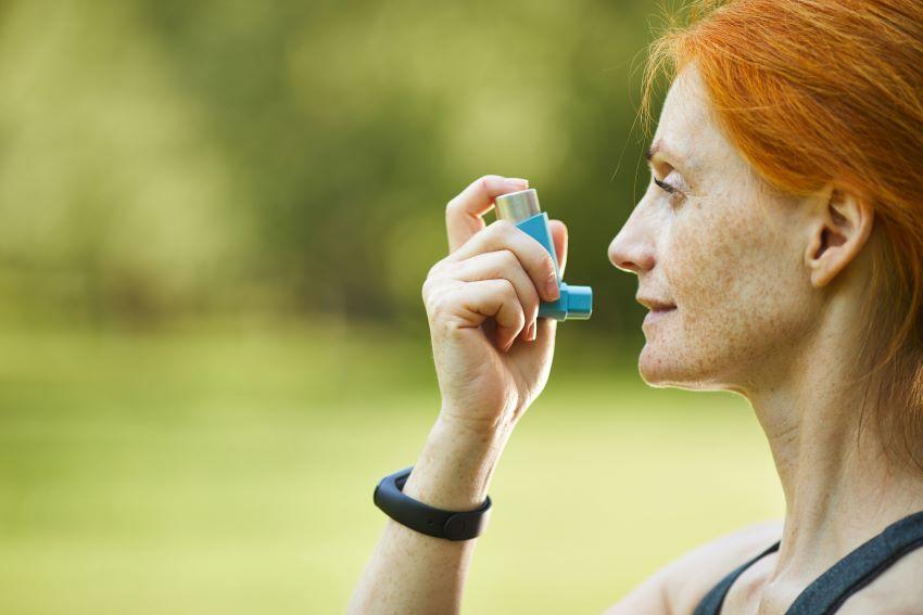 Asma y deporte de montaña