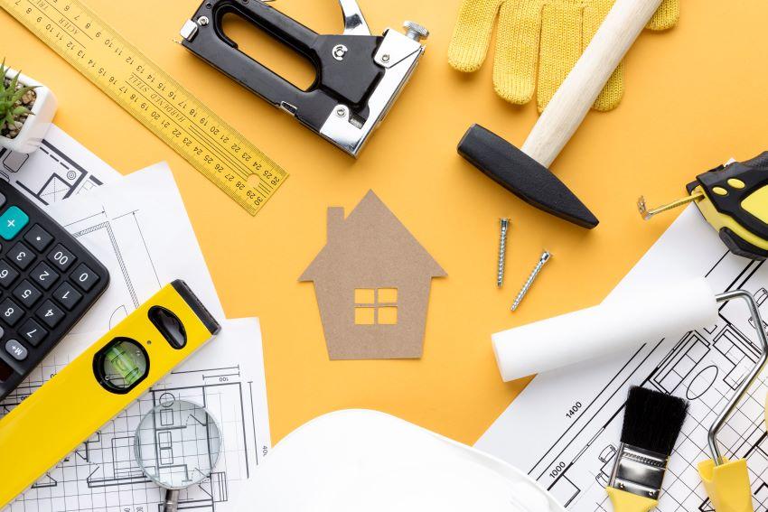 Herramientas para construir casa